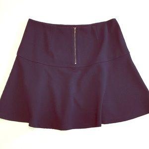 🌿Banana Republic Textured Navy Skirt